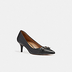 LAURI PUMP - BLACK/BLACK - COACH Q9168