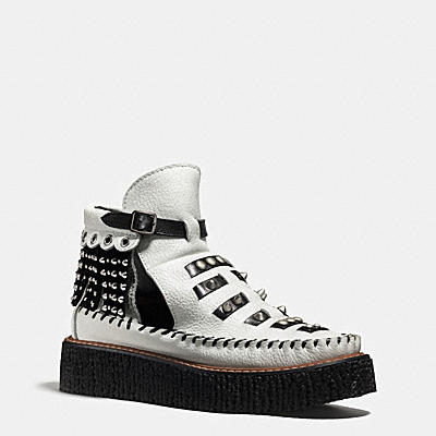 ROCCASIN鏤空短靴