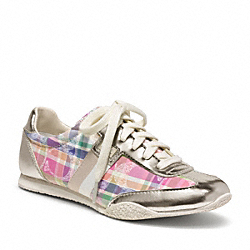 COACH KINSLEY SNEAKER - MULTICOLOR/PLATINUM - Q986