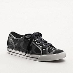 COACH DEE SNEAKER - BLACK - Q998