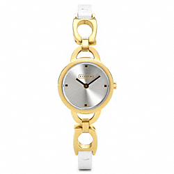 COACH NEW JEWELRY GOLD PLATED STRAP - ONE COLOR - W1018