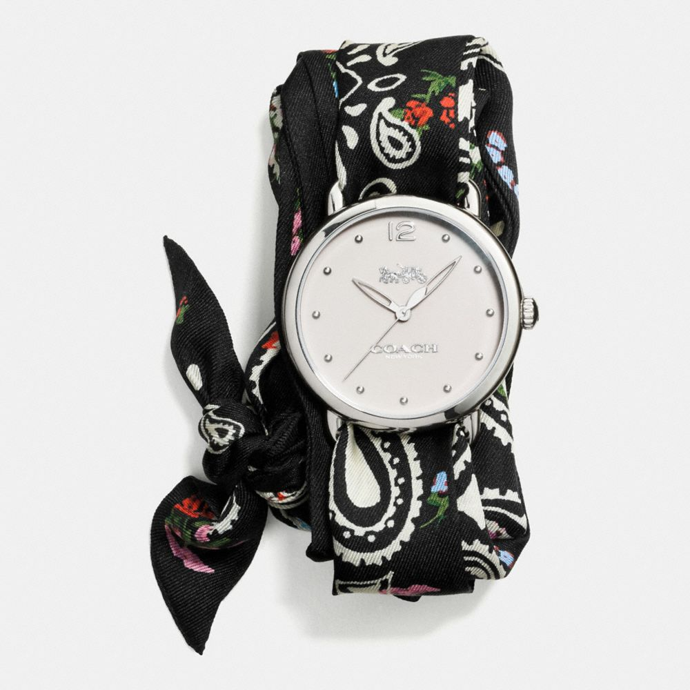 Delancey Scarf Strap Watch