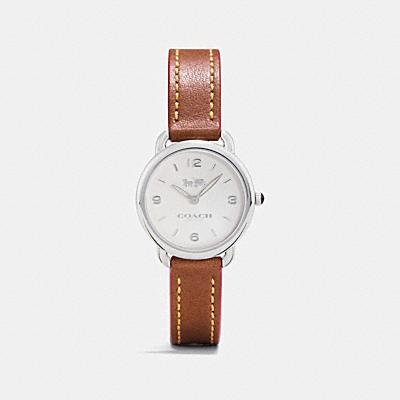 DELANCEY 皮革腕錶