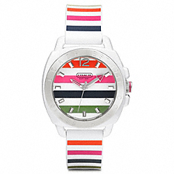 COACH BOYFRIEND RUBBER STRAP WATCH - ONE COLOR - W1053