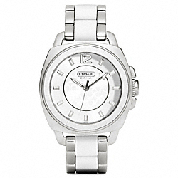 COACH BOYFRIEND MIXED MEDIA BRACELET WATCH - ONE COLOR - W1054
