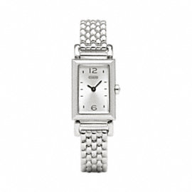 MADISON STAINLESS STEEL BRACELET WATCH