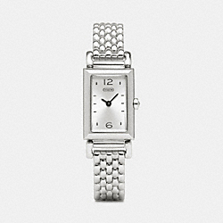 MADISON STAINLESS STEEL BRACELET WATCH COACH W1093