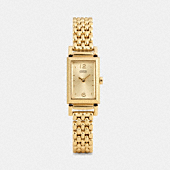 MADISON GOLD PLATED BRACELET WATCH