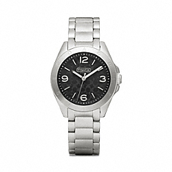 COACH TRISTEN STAINLESS STEEL BRACELET WATCH - ONE COLOR - W1102
