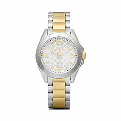 COACH TRISTEN TWO-TONE BRACELET WATCH - ONE COLOR - W1103