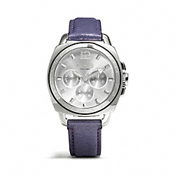 COACH BOYFRIEND STRAP WATCH - ONE COLOR - W1122