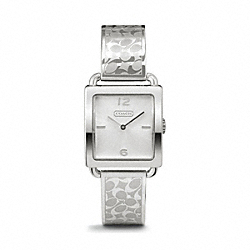 COACH LEGACY STAINLESS STEEL BANGLE WATCH - ONE COLOR - W1147