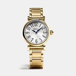 MADISON GOLD PLATED BRACELET WATCH - GOLD PLATED - COACH W1164