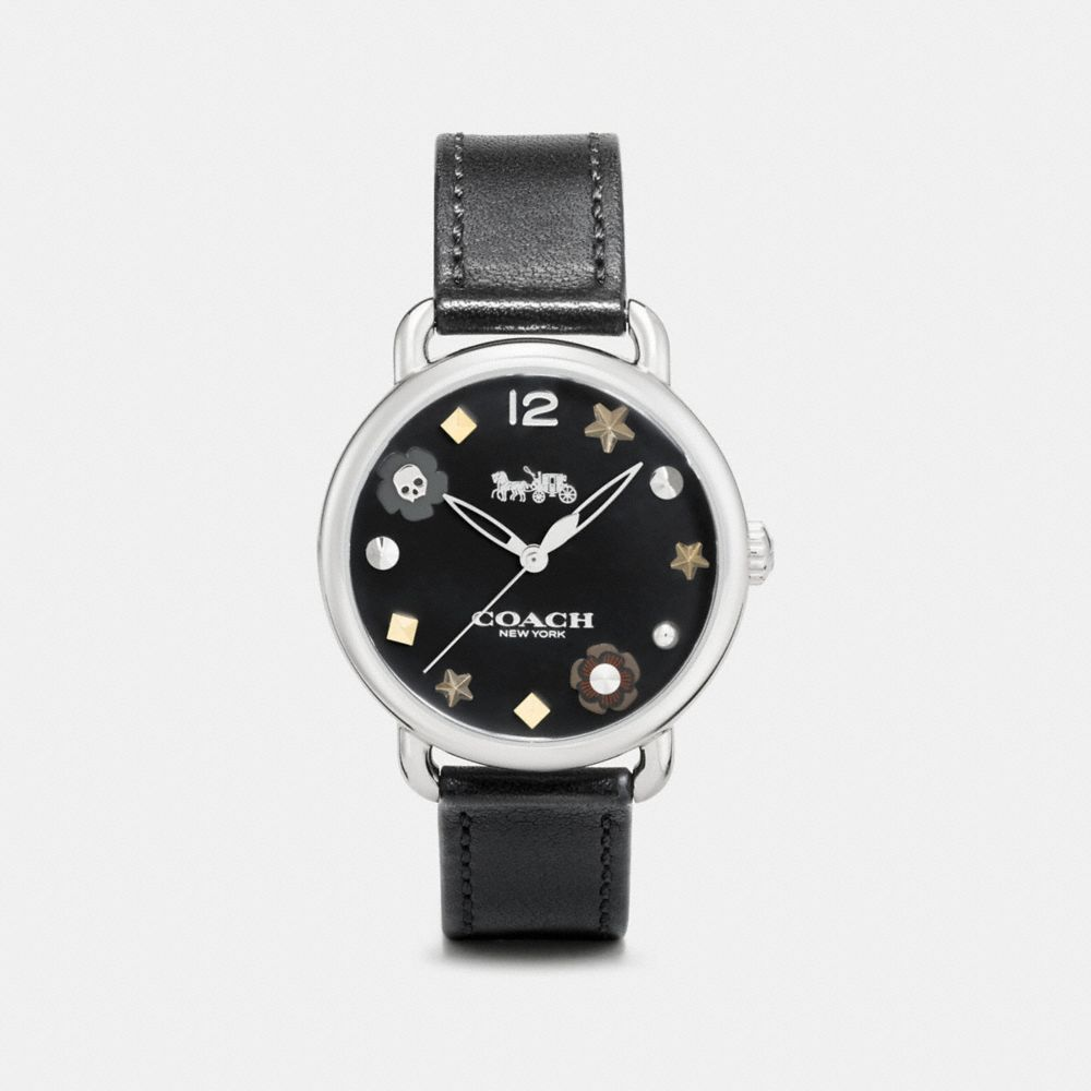 Coach Delancey Watch With Charm Dial