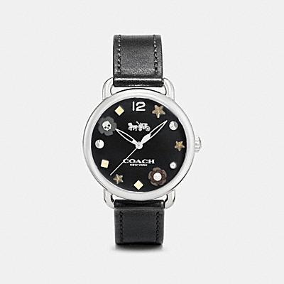 DELANCEY 掛飾皮革腕錶