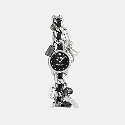 DELANCEY 不鏽鋼鍊帶掛飾腕錶