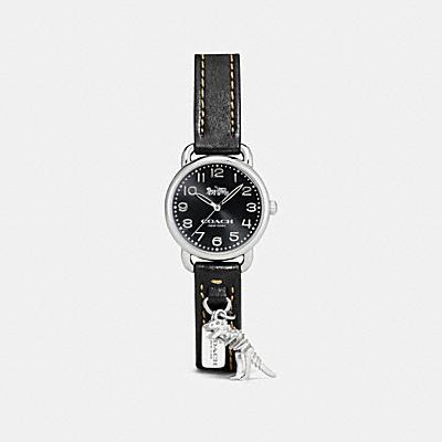 DELANCEY REXY 掛飾皮革腕錶