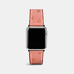 APPLE WATCH® STRAP WITH PRINTS - MELON - COACH W1297+MEL++WMN