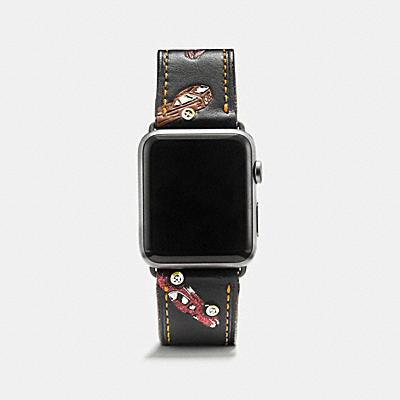 Apple Watch(R)  42MM プリンテッド レザー ストラップ