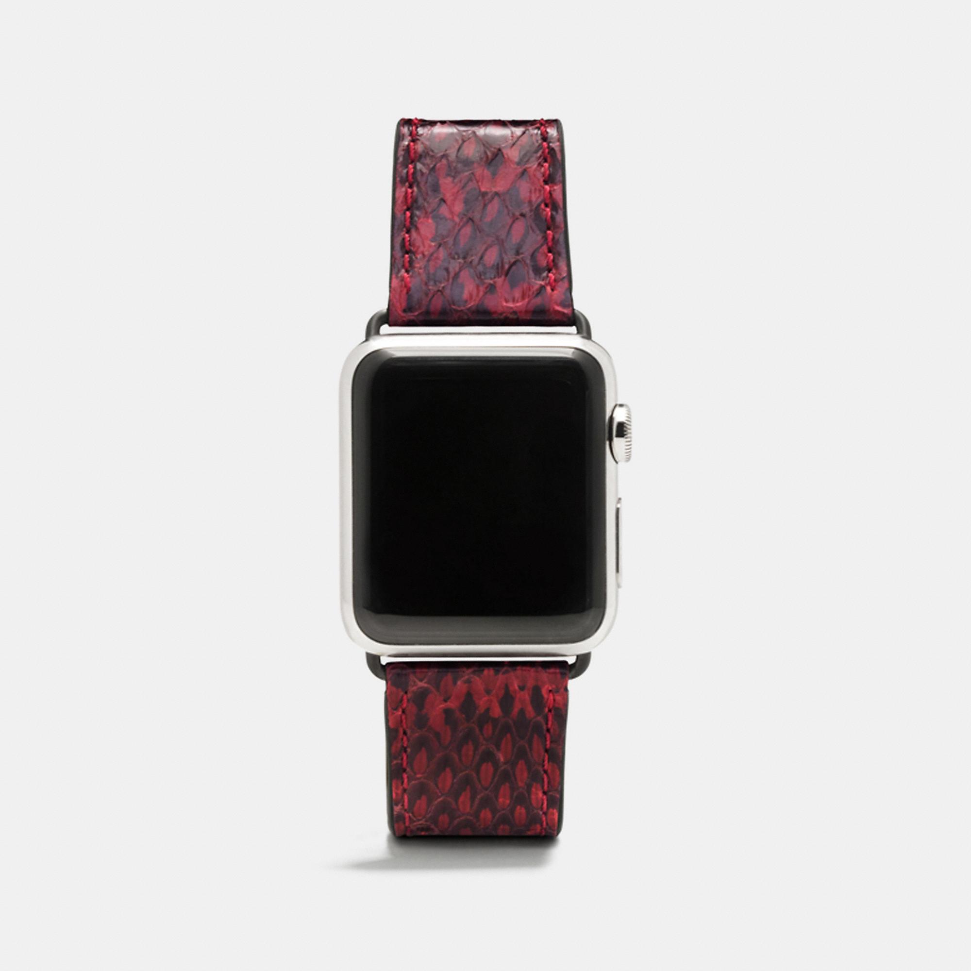 Coach Apple Watch Snake Strap