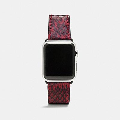 APPLE WATCH® 蛇皮錶帶