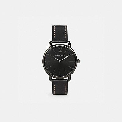 DELANCEY 輕巧皮革腕錶