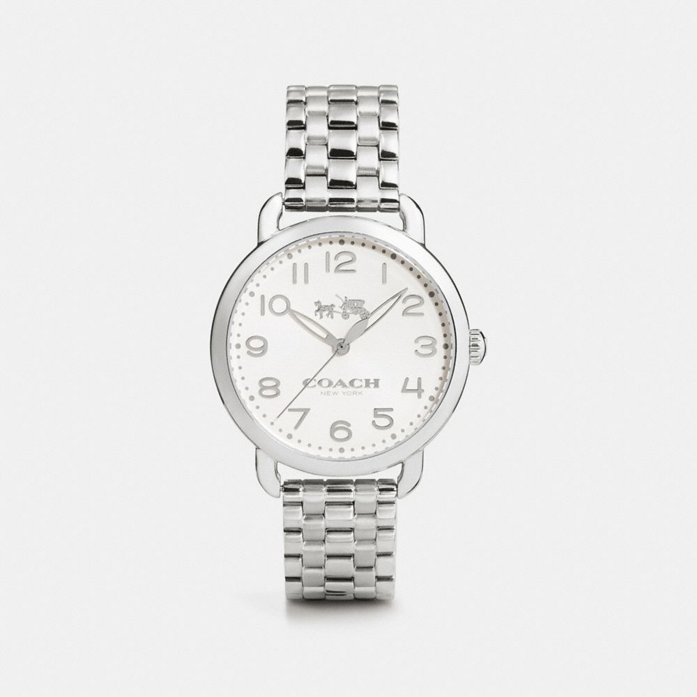 DELANCEY 36MM STAINLESS STEEL BRACELET WATCH