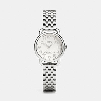 DELANCEY STAINLESS STEEL SMALL BRACELET WATCH