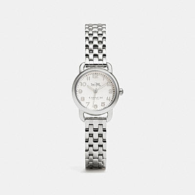 DELANCEY STAINLESS STEEL BRACELET WATCH