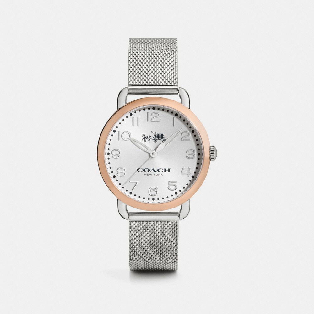DELANCEY 36MM TWO-TONE MESH BRACELET WATCH - Alternate View