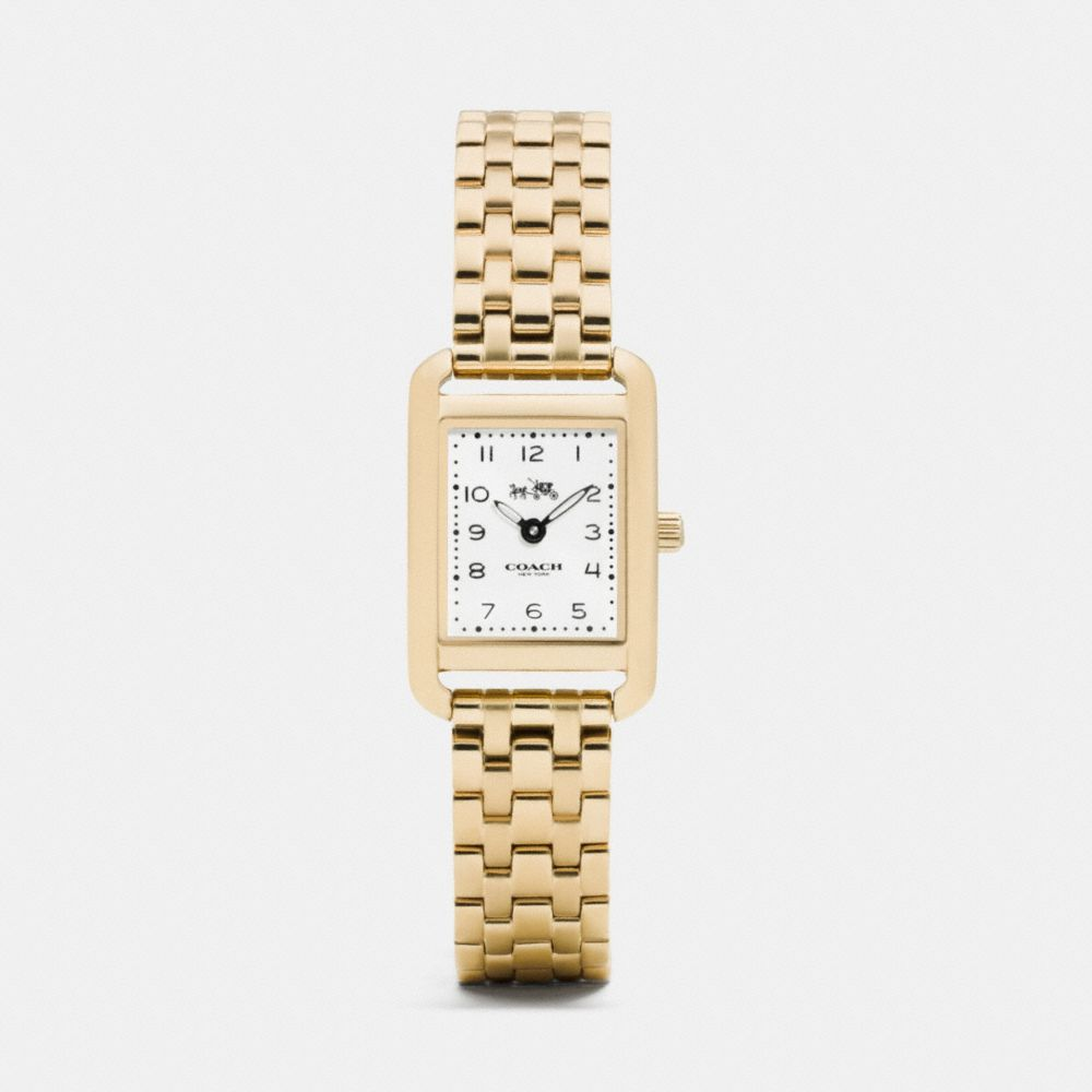 THOMPSON GOLD PLATED BRACELET WATCH - Alternate View