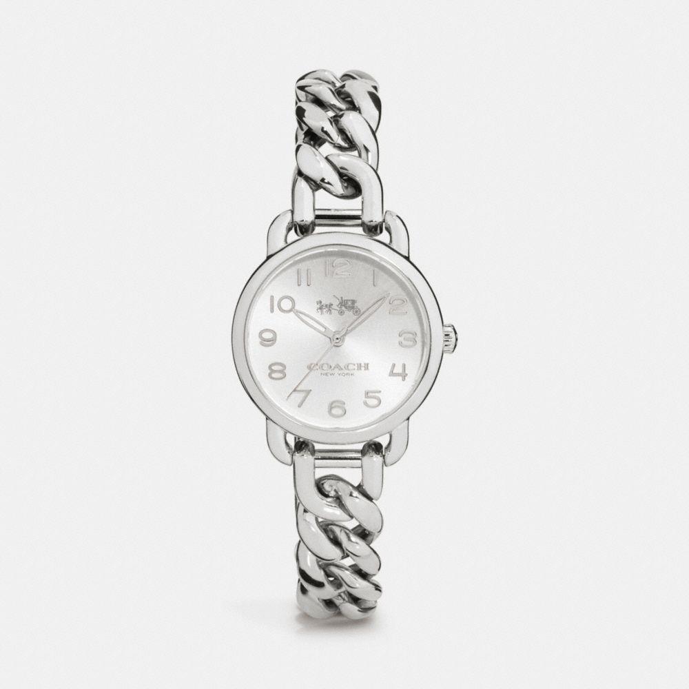 Delancey 28mm Stainless Steel Chain Link Bracelet Watch