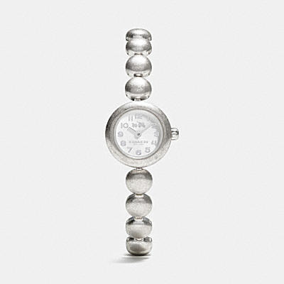 RIVET STAINLESS STEEL STUDDED BRACELET WATCH