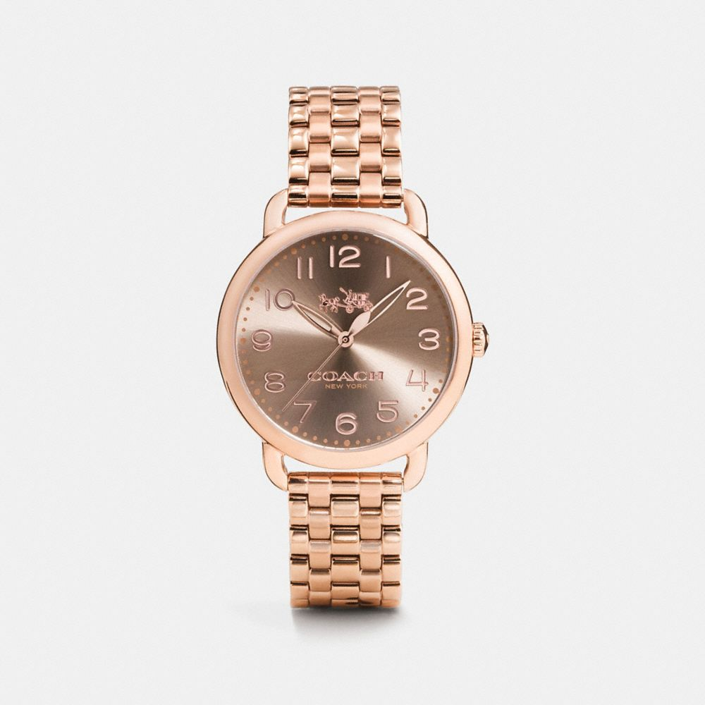 Delancey 36mm Rose Gold Plated Bracelet Watch