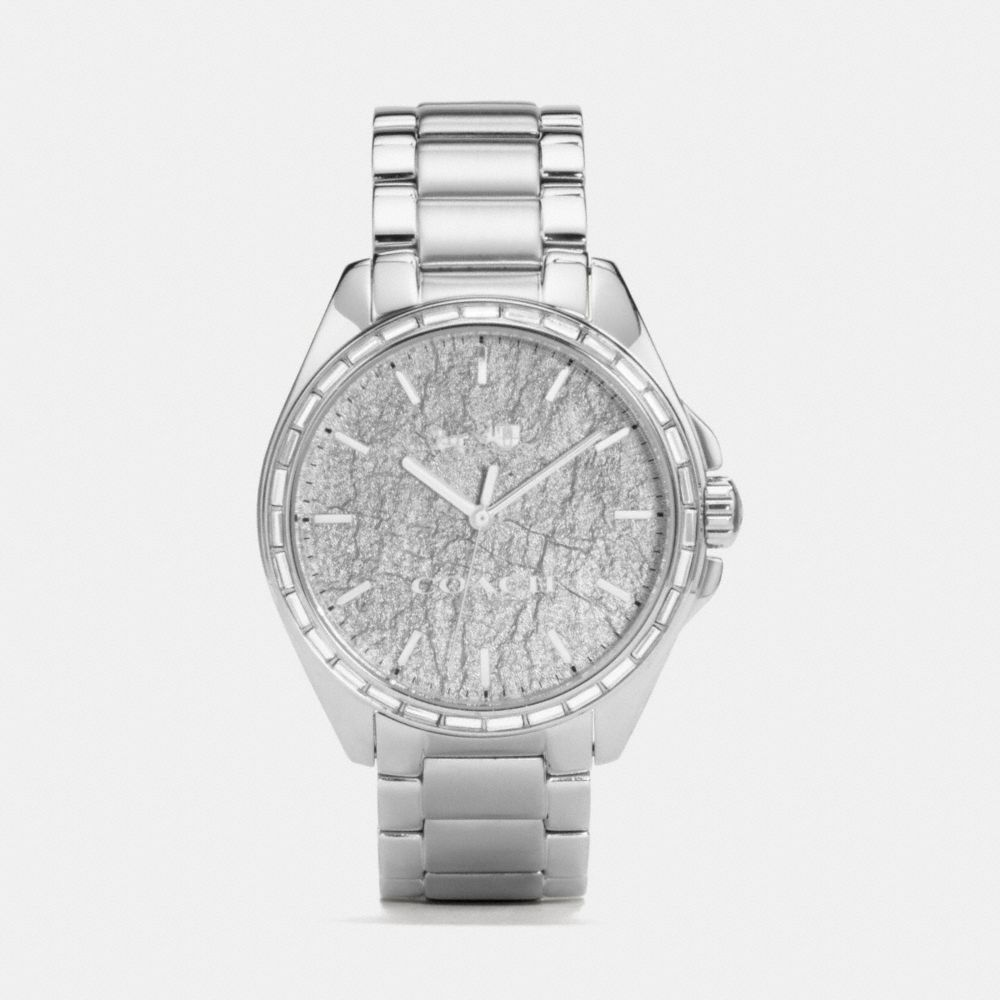 Coach Tristen Foil Dial Stainless Steel Bracelet Watch