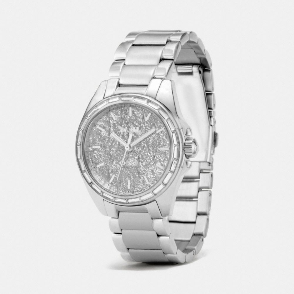 Tristen Foil Dial Stainless Steel Bracelet Watch - Alternate View A1