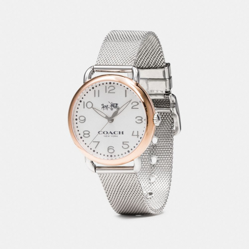 Delancey Two-Tone Mesh Bracelet Watch - Alternate View A1