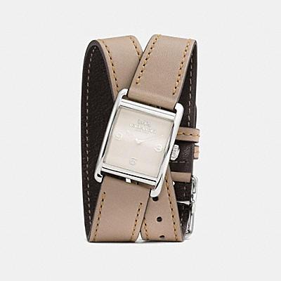 RENWICK 皮革雙層錶帶腕錶