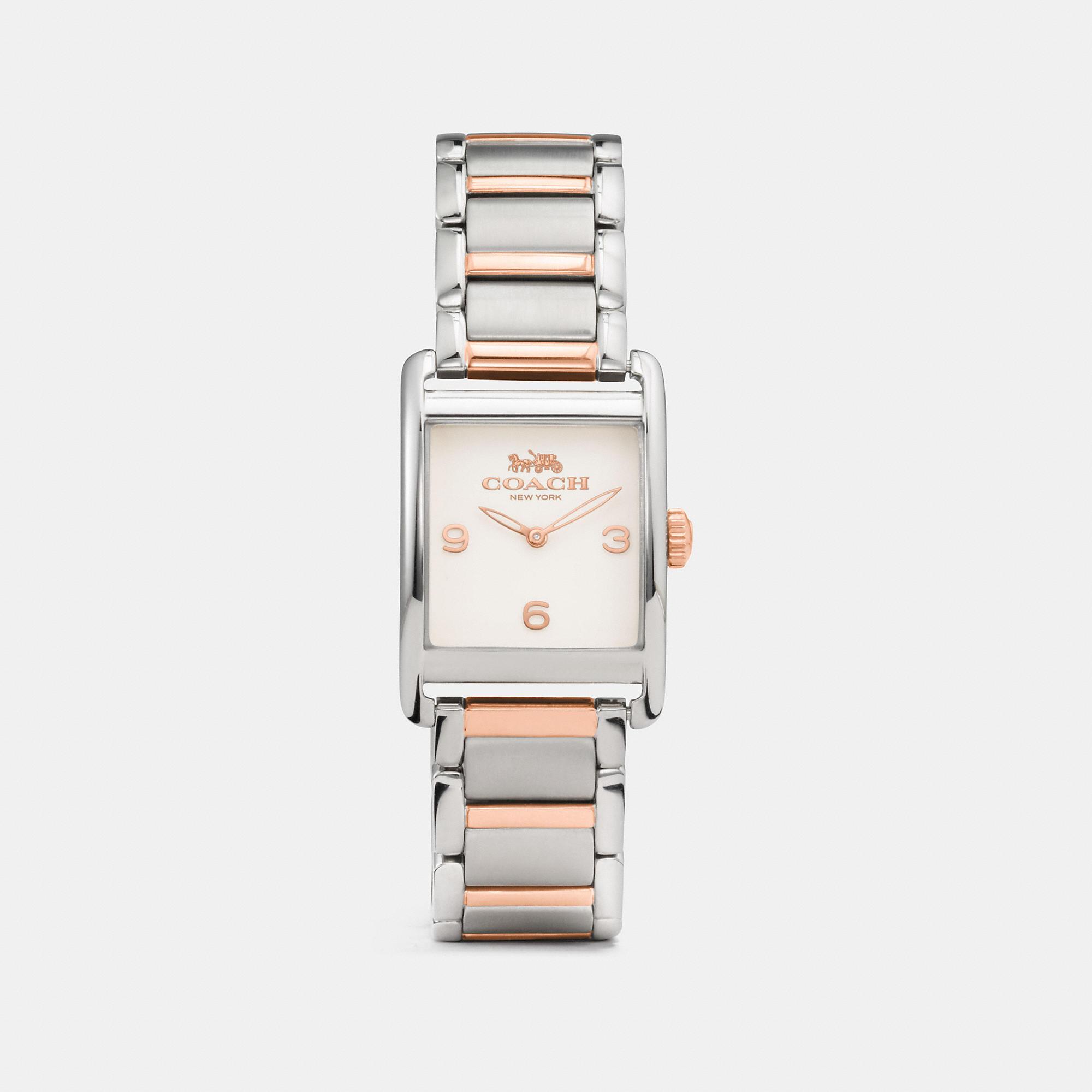 Coach Renwick Two Tone Bracelet Watch