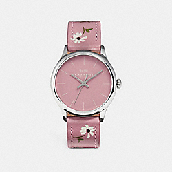 RUBY WATCH - VINTAGE PINK - COACH W1546