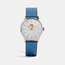 RUBY WATCH, 32MM - BLUE - COACH W1549