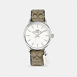 RUBY WATCH - KHAKI - COACH W1553