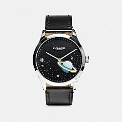 BAXTER WATCH, 39MM - BLACK SPACE - COACH W1555