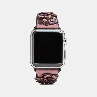 Apple Watch(R) 38MM ストラップ ウィズ ハート アップリケ