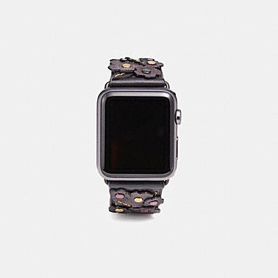 Apple Watch(R) 42MM ストラップ ウィズ ティー ローズ アップリケ