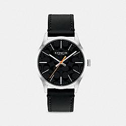 BAXTER WATCH, 39MM - BLACK - COACH W1584