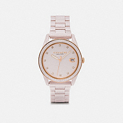 PRESTON SPORT WATCH, 36MM - PINK - COACH W1595