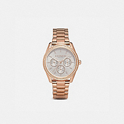 PRESTON SPORT WATCH, 36MM - ROSE GOLD - COACH W1598
