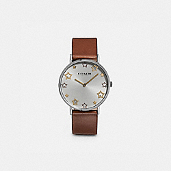 PERRY WATCH, 36MM - SADDLE - COACH W1605
