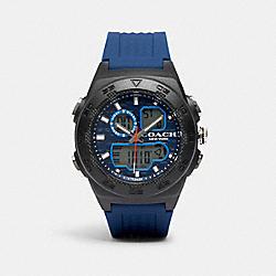 C100 WATCH, 45MM - BLUE - COACH W1683